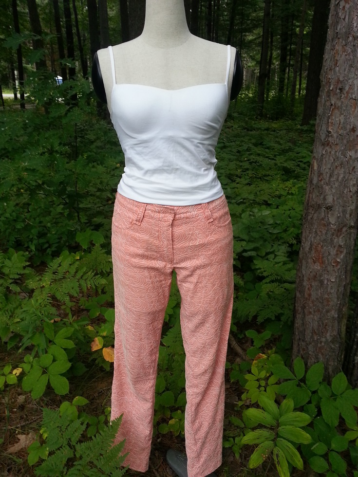 Style P1 - Creamsicle Jeans, front view, $225.00