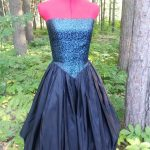 Brocade Bubble Dress Front View