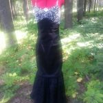 Convertible Marilyn Beaded Gown Front View