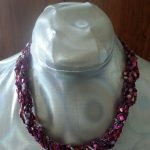 Pink Parade Rope Necklace Resize