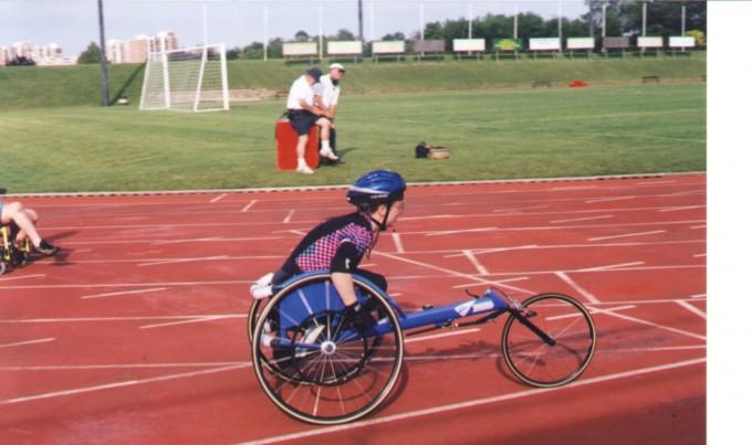 Competitive Wheelchair Racing Uniform